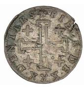 30 Deniers - Leopold I (Cross of Jerusalem) – reverse