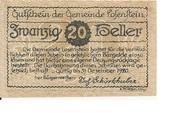 20 Heller (Losenstein) -  obverse