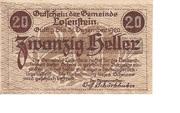 20 Heller (Losenstein) -  reverse