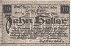 10 Heller (Losenstein) -  obverse