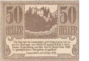 50 Heller (Losenstein) -  obverse