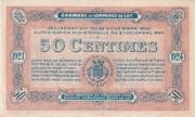 50 Centimes - Chambres de Commerce du Lot – reverse