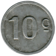 10 Centimes (Lot) – reverse