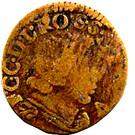 1 Denier, 1 Pfennig - Ferdinand Karl (Type 3) – obverse