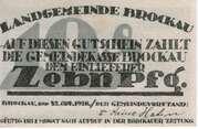 10 Pfennig (Brockau in Schlesien) – obverse
