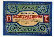 10 Pfennig (Freiburg in Schlesien) – obverse