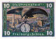10 Pfennig (Freiburg in Schlesien) – reverse