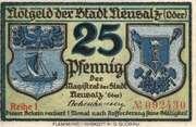 25 Pfennig (Neusalz) – obverse