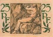 25 Pfennig (Waldenburg in Schlesien) – reverse