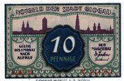 10 Pfennig (Glogau) – obverse