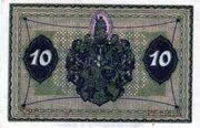 10 Pfennig (Glogau) – reverse