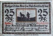 25 Pfennig (Reichenbach in Schlesien, Kreis) – obverse