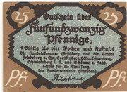 25 Pfennig (Hirschberg in Schlesien; Handelskammer) – obverse