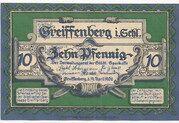 10 Pfennig (Greiffenberg; Sparkasse) – obverse