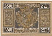 25 Pfennig (Greiffenberg; Sparkasse) – obverse