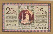 25 Pfennig (Bad Kudowa) – obverse