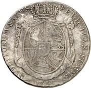 1 Thaler - Friedrich August – reverse