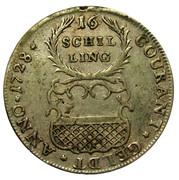 16 Schilling – reverse