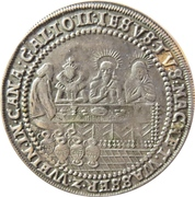 ½ Schautaler (Hochzeitstaler) – reverse