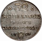32 Schilling - Franz II – reverse