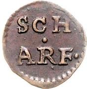 1 Scherf – reverse
