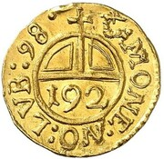 1 Dreiling (Gold Pattern) – reverse