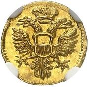 1 Dreiling (Gold Pattern) – obverse