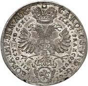1 Thaler (Election of Emperor Karl VI.) – reverse