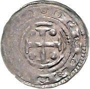 1 Pfennig - Friedrich I. – reverse