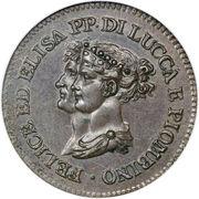 3 Centesimi - Felice – obverse