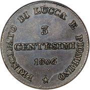3 Centesimi - Felice – reverse