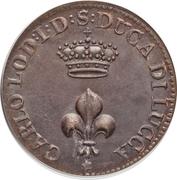 1 Soldo - Carlo Ludovico I – obverse