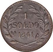 1 Soldo - Carlo Ludovico I – reverse