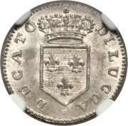 2 Soldi - Carlo Ludovico I – obverse