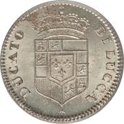 5 Soldi - Carlo Ludovico I – obverse