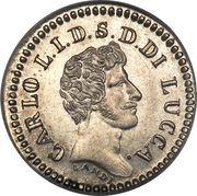 10 Soldi - Carlo Ludovico I – obverse