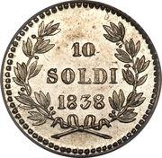 10 Soldi - Carlo Ludovico I – reverse