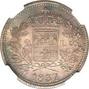 2 Lire - Carlo Ludovico I – reverse