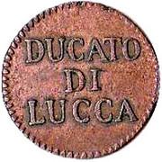 1 Quattrino - Carlo Ludovico I – reverse