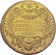 4 Ducat (Trade Coinage) – reverse