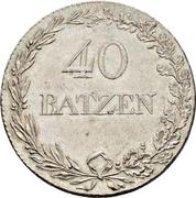 40 Batzen – reverse