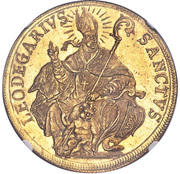 10 Ducat (Trade Coinage) – obverse