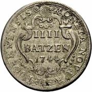 4 Batzen – reverse
