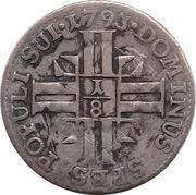 ⅛ Gulden – reverse