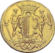 2 Ducats (Trade Coinage) – obverse