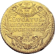 2 Ducats (Trade Coinage) – reverse