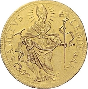 2 Ducat (Trade Coinage) – obverse