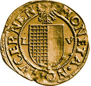 4 Goldgulden (Bust of Saint Leodegar) – obverse