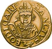 4 Goldgulden (Bust of Saint Leodegar) – reverse