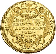 5 Ducat (Trade Coinage) – reverse